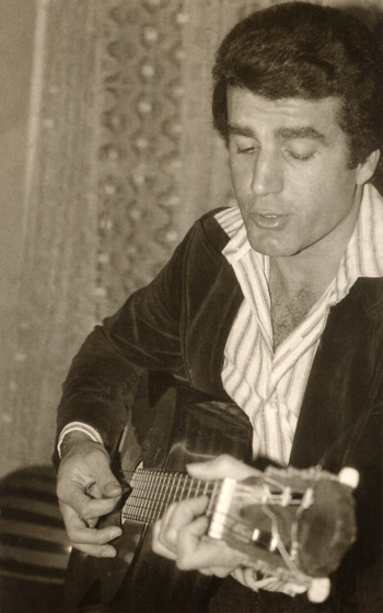George Elias playing Guitar